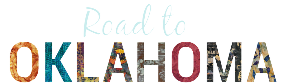 Welcome to the Road to Oklahoma Shop Hop!